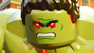 Lego Marvels Avengers Part 3 Avengers Age of Ultron Movie Walkthough Anger Management
