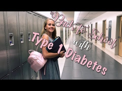 BACK TO SCHOOL WITH TYPE 1 DIABETES!