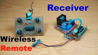 How to make Wireless Rc car/boat/helicopter 4 channel rf transmitter receiver at home-part-2||DIY-