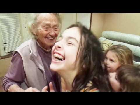 92 Year Old Grandma Doing Juju On That Beat (FUNNY)!