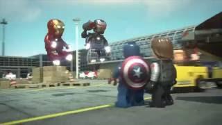 Lego Captain America Civil War (Re-Sound Project)