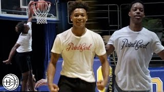 KJ Fitzgerald and 2019 Jahcobi Neath Full Dynasty Drills Workout and 1 on 1!