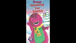 Barney's Waiting For Santa (1995 VHS Rip) (THE REAL DEAL!!!!)