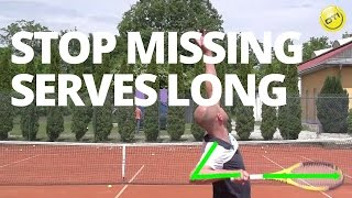Stop Missing Serves Long in Tennis - No More Waiter's Tray