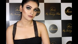 Smokey Look I Sharlina Hossain  I Kona By Farnaz Alam