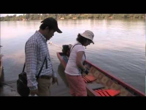 Boat to Ka Choan Minority Village, Cambodia Part 1