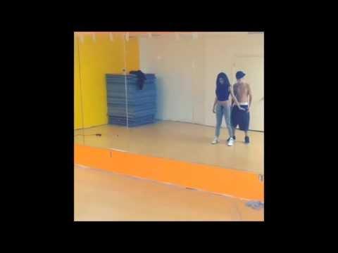 Justin Bieber e Selena Gomez Dancing to Ordinary People
