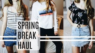 HUGE SPRING BREAK HAUL!! PacSun, Nordstrom, Brandy & MORE!
