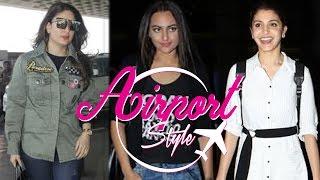 Kareena Kapoor Khan, Sonakshi Sinha, Anushka Sharma & Diljit Dosanj slay the Airport Fashion