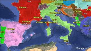 Capitales de Europa / Capitals of Europe. Formación [IGEO.TV]