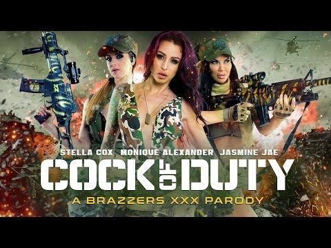 Xxx Mp4 Brazzers Presents Cock Of Duty XXX Parody TEASER TRAILER 2016 3gp Sex