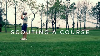Tournament Vlog: How To Scout A Course