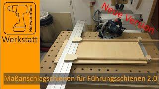 NEU Maßanschlagschienen für Bosch/Mafell Führungsschiene FSN - Die Neuen-