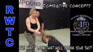 THE WRIST LOCK THAT WILL BREAK YOUR SHIT!   Combative Concepts Nikyo