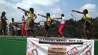 Children of Kibera Foundation Music Festival 2010-Ewa Ewa dance