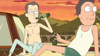 Jerry and Sleepy Gary's Romantic Vacation - Rick and Morty
