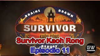 Survivor Kaoh Rong - Episodio 11 EN VIVO en YouNow April 27, 2016