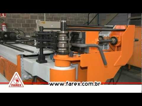 CURVADORA DE TUBOS FAREX CNC