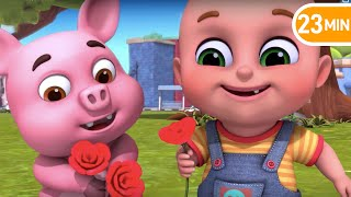 Ringa Ringa Roses - Learn English with Songs for Children by Jugnu Kids