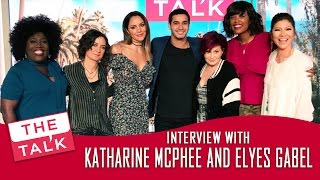 Katharine McPhee and Elyes Gabel on The Talk - May 8 2017