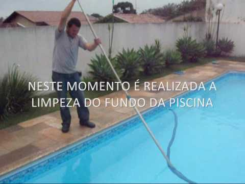 Como limpar uma piscina Passo a passo