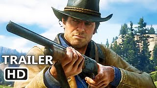 RED DEAD REDEMPTION 2 Gameplay Trailer (NEW 2018) Video Game HD