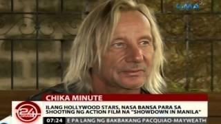 Ilang hollywood stars, nasa bansa para sa shooting ng action film na 'Showdown in Manila'