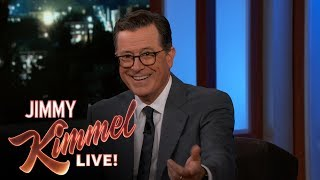 Colbert Reveals What Letterman Taught Him
