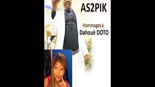 Hommages à Dahouè DOTO