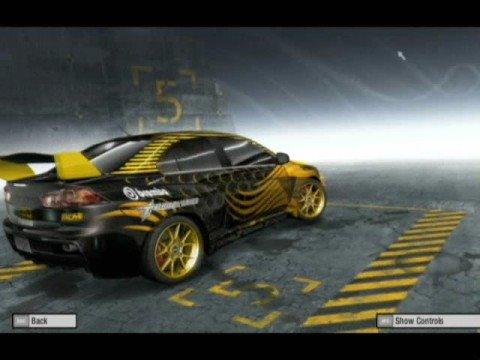 NFS ProStreet : Mitsubishi Evolution X : Koi Design