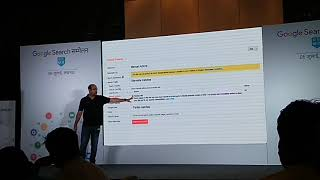 Google Search Conference 2018 in Lucknow part 1