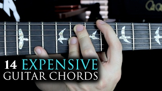 14 Expensive Guitar Chords