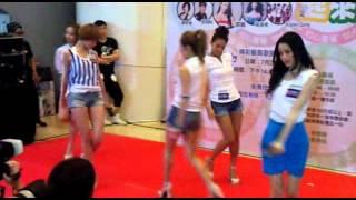 香港女子組合 Super Girls live in Tsuen Wan on 29/7/2012