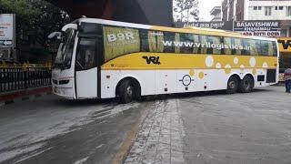 VRL Volvo and SRS Benz bus |HORN| #vrlvolvobus #srsbus