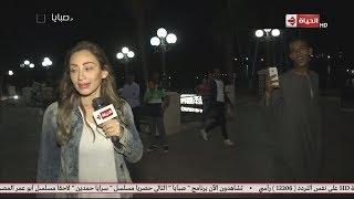 صبايا مع ريهام سعيد - ممكن اتصور معاكي ؟ شاهد رد فعل ريهام سعيد عندما طلب منها طفل صورة بالاقصر