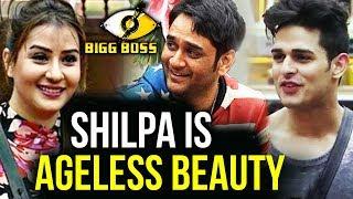 Vikas Gupta And Priyank Calls Shilpa 'Ageless Beauty'