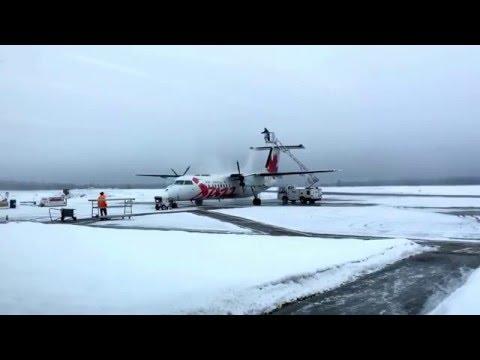 YXC Cranbrook - YVR Vancouver Air Canada Express Dash 8