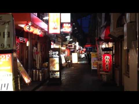 Cool Japanese Back Alley