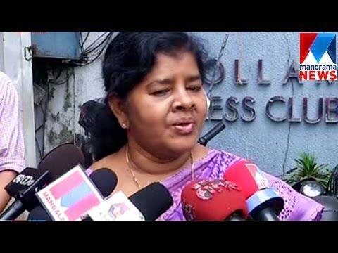Kollam rape; J. Mercykutty Amma greets victim's courage  | Manorama News