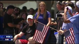 Wounded Fort Worth officer Matt Pearce released from hospital