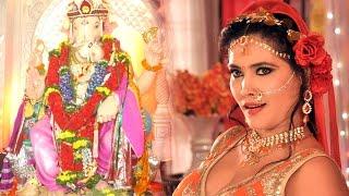 Bhojpuri Actress Seema Singh Celebrates Ganesh Chaturthi 2016 At Her House