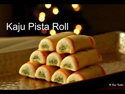Xxx Mp4 Kaju Pista Roll Recipe Cashew Pistachio Rolls Kaju Roll Recipe How To Make Kaju Pista Roll Recipe 3gp Sex