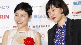 安藤桃子、サクラが姉妹で受賞!「感謝でいっぱい」 「第69回毎日映画コンクール」会見 #Momoko Ando #Mainichi Film Award