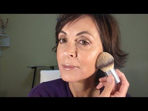 GRWM: Mature Skin  Bronze Glow  New 100% Pure Products
