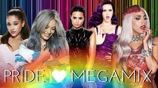 PRIDE 2017 | The Megamix - Lady Gaga, Katy, Ariana, Hilary Duff and more!