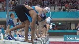 Women's 100m Freestyle - Heats | London 2012 Olympics
