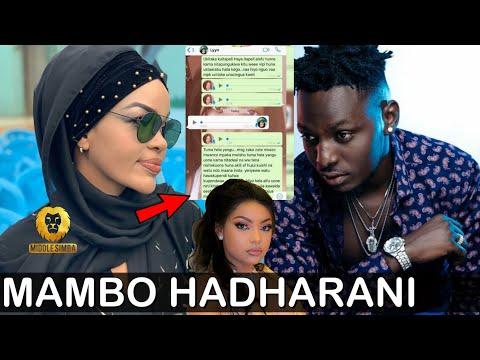 Xxx Mp4 SMS Zimevuja Mambo Yote Hadharani WEMA SEPETU BARAKA THE PRINCE Na LYNN Hakuna Siri Tena 3gp Sex