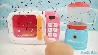 Paw Patrol Microwave & Blender Just Like Home Kitchen Toy Surprise Eggs for Baby Toddlers Preschool