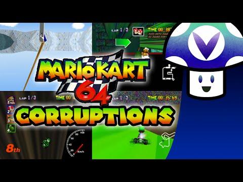 Vinesauce Vinny Mario Kart 64 Corruptions