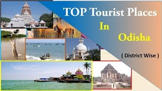 Odisha Tourism   top tourist places to visit in odisha and distance from district headquarters   HD